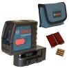 Bosch Kreuzlinienlaser GLL2-15 mit Multifunktionshalterung in Tasche, 601063701 - 1