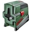 Bosch PCL 20 Kreuzlinien-Laser + Schutztasche + Wandhalterung (10 m Arbeitsbereich, Lotfunktion) - 1