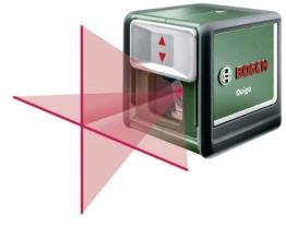 Bosch Quigo Kreuzlinien-Laser + Universalhalterung (7 m Arbeitsbereich) - 1