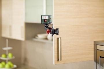 Bosch Quigo Kreuzlinien-Laser + Universalhalterung (7 m Arbeitsbereich) - 4