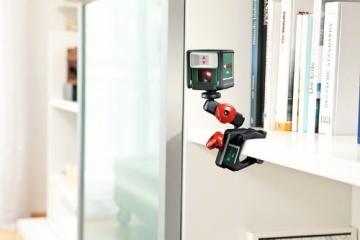 Bosch Quigo Kreuzlinien-Laser + Universalhalterung (7 m Arbeitsbereich) - 7