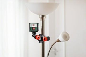 Bosch Quigo Kreuzlinien-Laser + Universalhalterung (7 m Arbeitsbereich) - 8