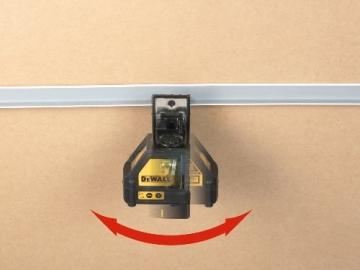 Dewalt DW088K-XJ Kreuzlinienlaser mit Puls Modus - 3