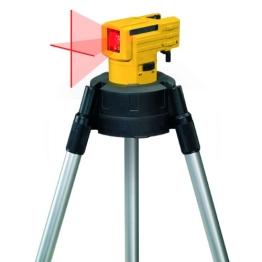 Stabila Messgeräte 16789 Selbstnivellierender Kreuzlinien-Laser LAX 50 inkl. Stativ-Teleskopstangen-Kombination - 1