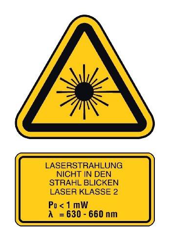 Stabila Messgeräte 16789 Selbstnivellierender Kreuzlinien-Laser LAX 50 inkl. Stativ-Teleskopstangen-Kombination - 7