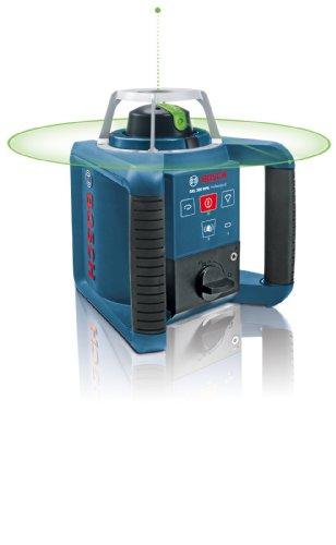 Bosch 061599404B GRL 300 HVG Professional rotationslaser im Koffer mit GR 240 und LR 1G mitWM 4 und BT 300 HD - 1