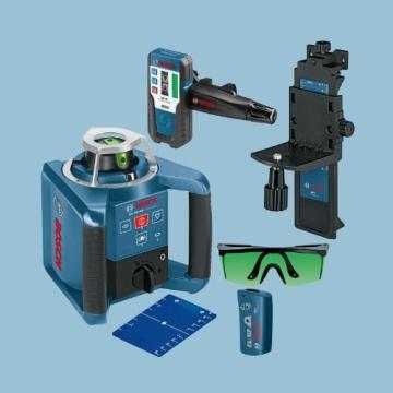 Bosch 061599404B GRL 300 HVG Professional rotationslaser im Koffer mit GR 240 und LR 1G mitWM 4 und BT 300 HD - 3