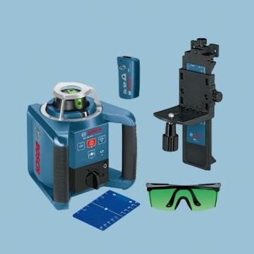 Bosch 061599404B GRL 300 HVG Professional rotationslaser im Koffer mit GR 240 und LR 1G mitWM 4 und BT 300 HD - 4