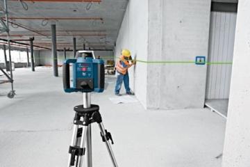 Bosch 061599404B GRL 300 HVG Professional rotationslaser im Koffer mit GR 240 und LR 1G mitWM 4 und BT 300 HD - 5