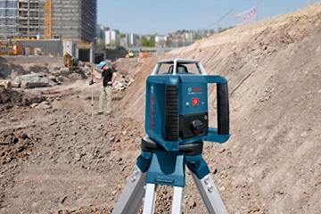 Bosch Professional GRL 400 H, 400 m Arbeitsbereich mit Empfänger, Transportkoffer, Empfänger - 1