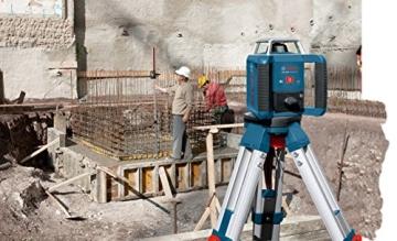 Bosch Professional GRL 400 H, 400 m Arbeitsbereich mit Empfänger, Transportkoffer, Empfänger - 3