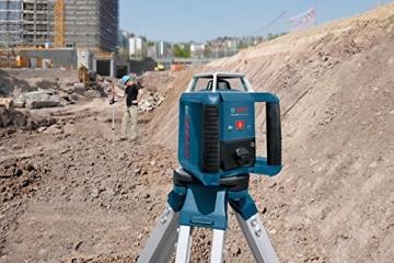 Bosch Professional GRL 400 H, 400 m Arbeitsbereich mit Empfänger, Transportkoffer, Empfänger - 5