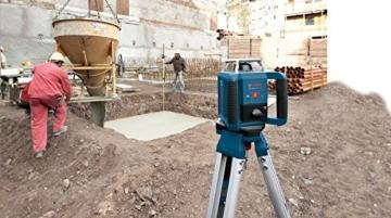 Bosch Professional GRL 400 H, 400 m Arbeitsbereich mit Empfänger, Transportkoffer, Empfänger - 8