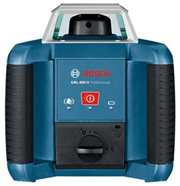 Bosch Professional GRL 400 H, 400 m Arbeitsbereich mit Empfänger, Transportkoffer, Empfänger - 9