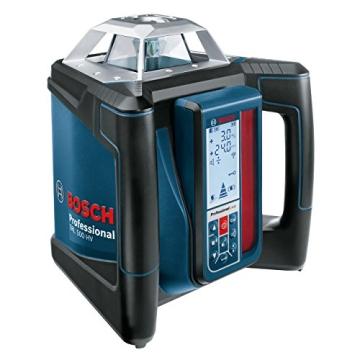 Bosch Professional GRL 500 HV und LR 50, Durchmesser 500 m, Arbeitsbereich mit Empfänger, Halterung, Schutztasche, Schnelllader, Transportkoffer, 0601061B00 - 4